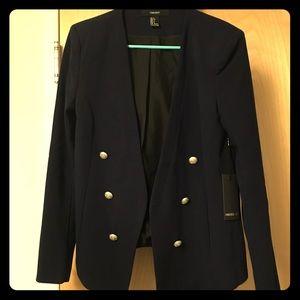 Brand New Forever 21 Open front blazer